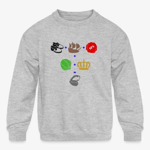 walrus and the carpenter - Kids' Crewneck Sweatshirt