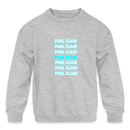 Paul Clair Stand Out Youth & Babies - Kids' Crewneck Sweatshirt