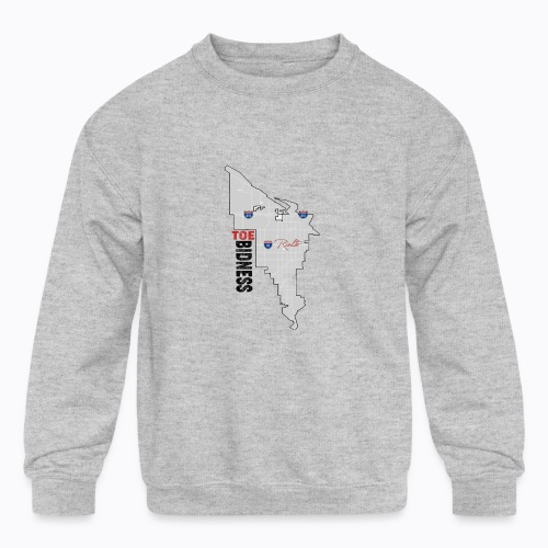 Toe Bidness - Kids' Crewneck Sweatshirt