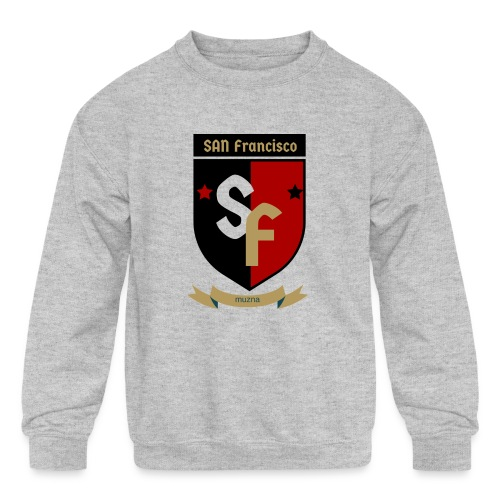 San Francisco Muzna - Kids' Crewneck Sweatshirt