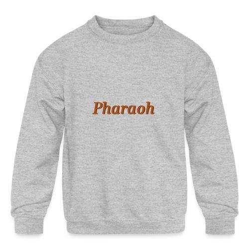 Pharoah - Kids' Crewneck Sweatshirt