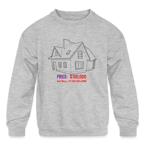 Fannie & Freddie Joke - Kids' Crewneck Sweatshirt