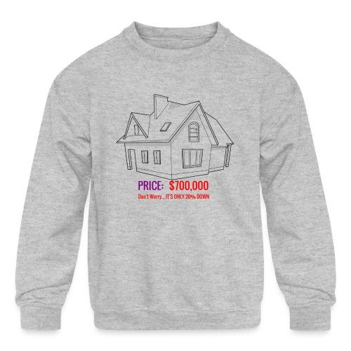 Fannie & Freddie Joke - Kids' Crewneck Sweatshirt