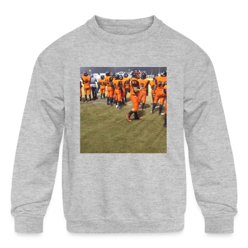 Football team - Kids' Crewneck Sweatshirt