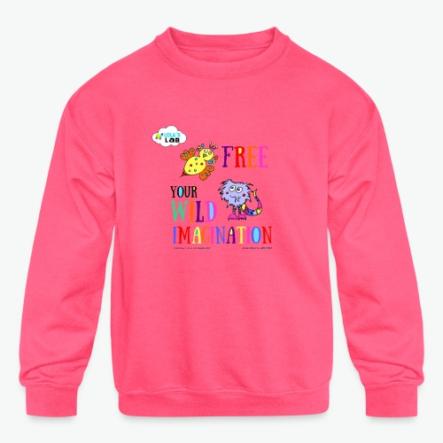 LOLAS LAB FREE YOUR WILD IMAGINATION TEE - Kids' Crewneck Sweatshirt