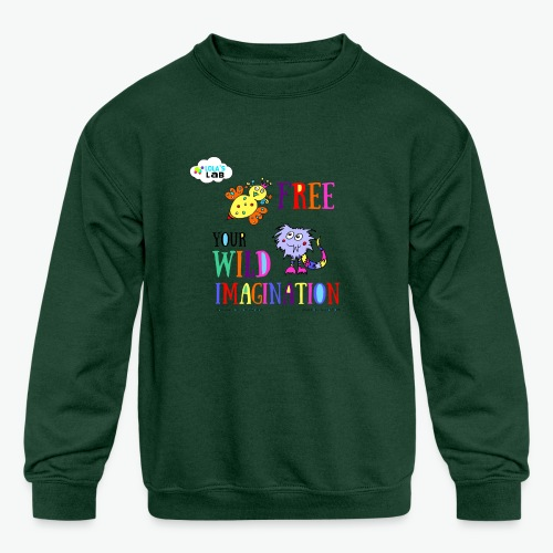 LOLAS LAB FREE YOUR WILD IMAGINATION TEE - Kids' Crewneck Sweatshirt