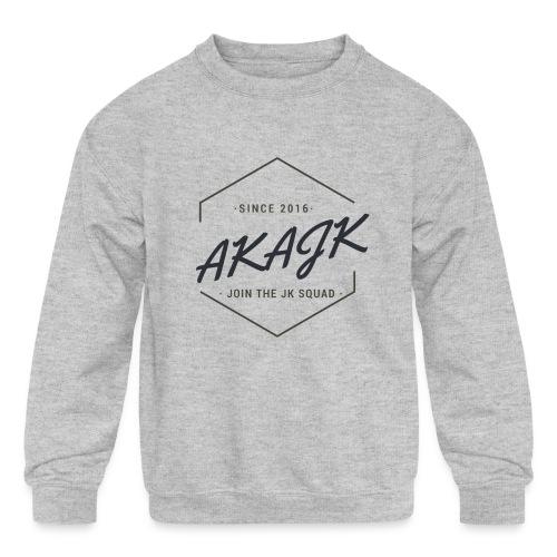 the geometric JK Squad - Kids' Crewneck Sweatshirt