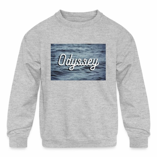 WaterOdyssey - Kids' Crewneck Sweatshirt