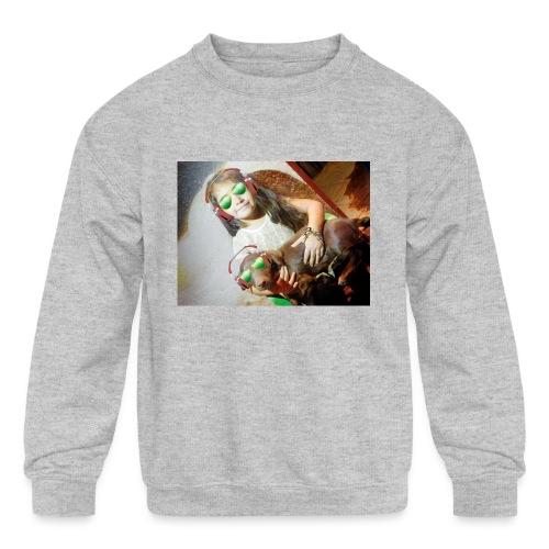 marilyn's merch - Kids' Crewneck Sweatshirt