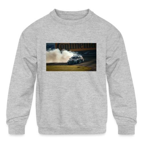nissan skyline gtr drift r34 96268 1280x720 - Kids' Crewneck Sweatshirt