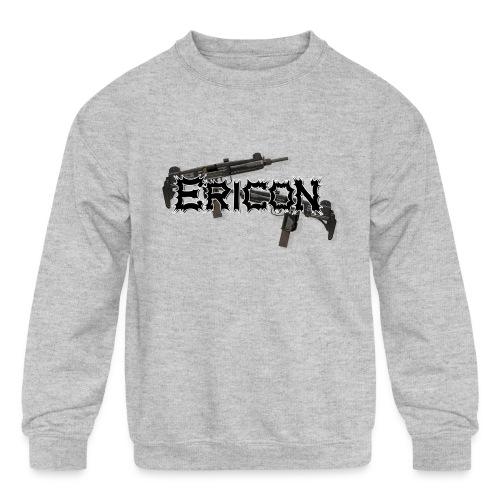 Ericon Beats Uzi Logo - Kids' Crewneck Sweatshirt