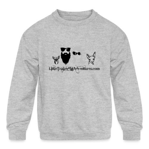 LTBA Heads Logo - Kids' Crewneck Sweatshirt