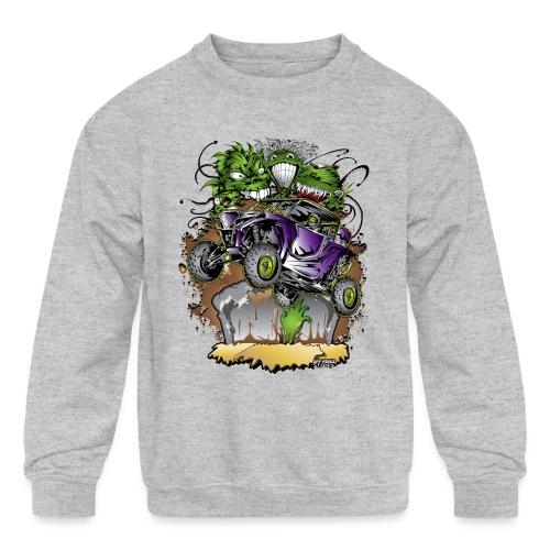 UTV Grave Ghoules - Kids' Crewneck Sweatshirt