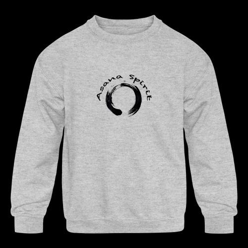 Asana Spirit - Kids' Crewneck Sweatshirt