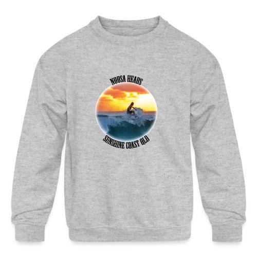 Noosa Surfer - Kids' Crewneck Sweatshirt