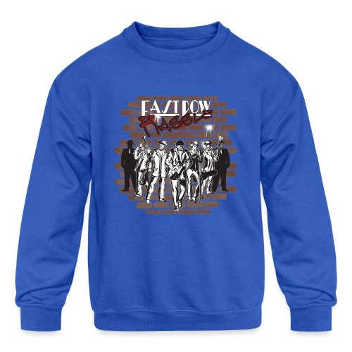 East Row Rabble - Kids' Crewneck Sweatshirt