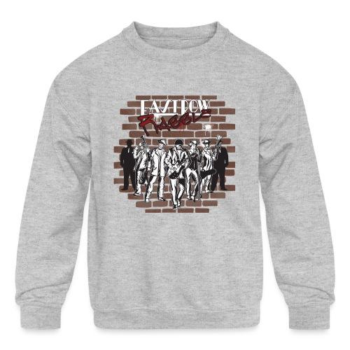 East Row Rabble - Kids' Crewneck Sweatshirt