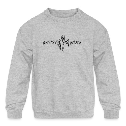GhostGang Logo - Kids' Crewneck Sweatshirt