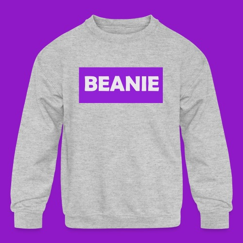 BEANIE - Kids' Crewneck Sweatshirt