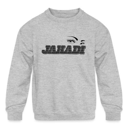 HadiLogo - Kids' Crewneck Sweatshirt