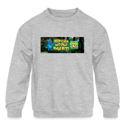 KDMYBANNER1 - Kids' Crewneck Sweatshirt