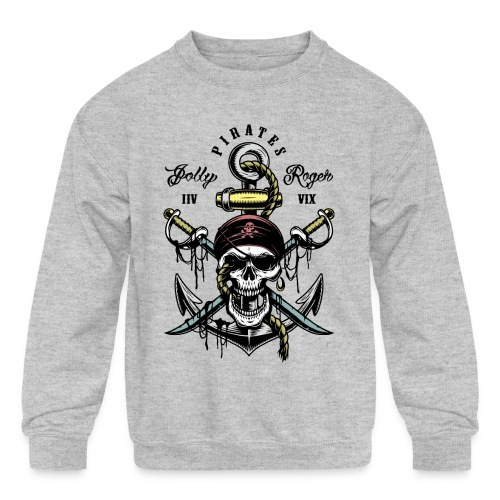 pirates - Kids' Crewneck Sweatshirt