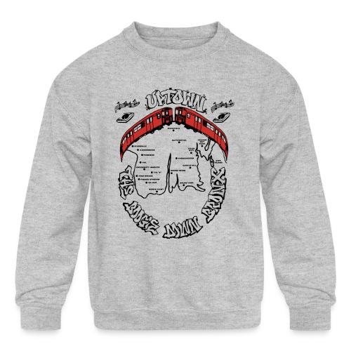 (artwork_195348) THE BOOGIE DOWN BRONX - Kids' Crewneck Sweatshirt