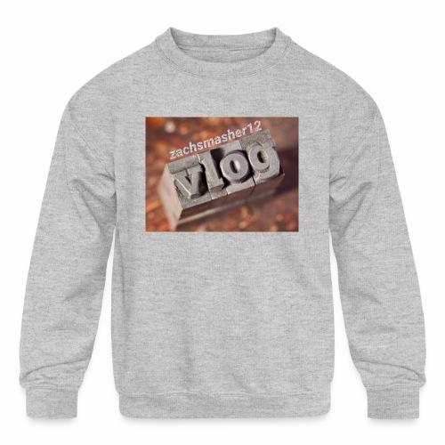 Vlog - Kids' Crewneck Sweatshirt