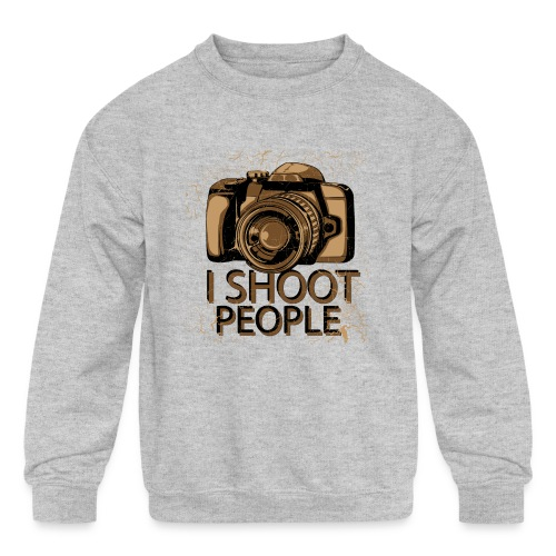 Photographer - Kids' Crewneck Sweatshirt