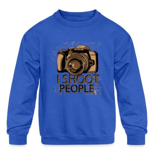 Photographer - Kids' Crewneck Sweatshirt