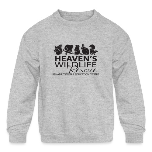 Heaven's Wildlife Rescue - Kids' Crewneck Sweatshirt