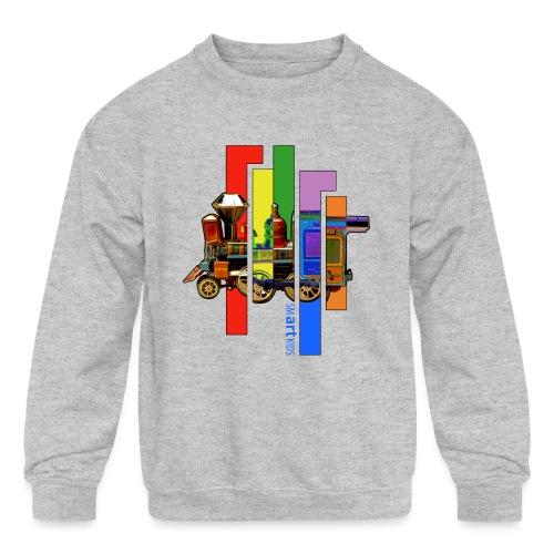 smARTkids - Coco Locomofo - Kids' Crewneck Sweatshirt