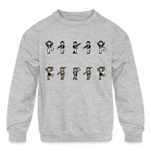 flappersshirt - Kids' Crewneck Sweatshirt