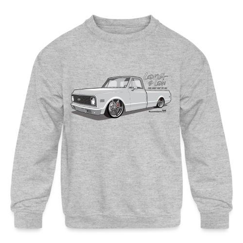 Long & Low C10 - Kids' Crewneck Sweatshirt