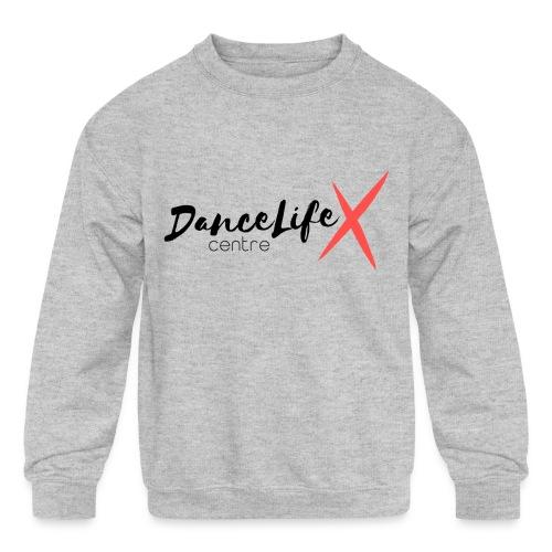 DL-Logo-Master - Kids' Crewneck Sweatshirt
