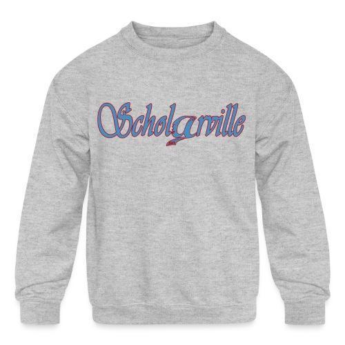 Welcome To Scholarville - Kids' Crewneck Sweatshirt