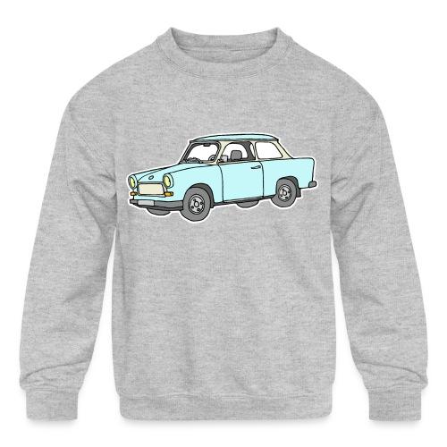 Trabant (lightblue) - Kids' Crewneck Sweatshirt