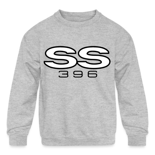 Chevy SS 396 emblem - AUTONAUT.com - Kids' Crewneck Sweatshirt