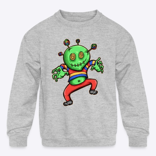 Candy Boy - Kids' Crewneck Sweatshirt
