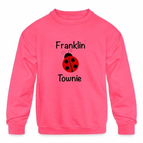 Franklin Townie Ladybug - Kids' Crewneck Sweatshirt