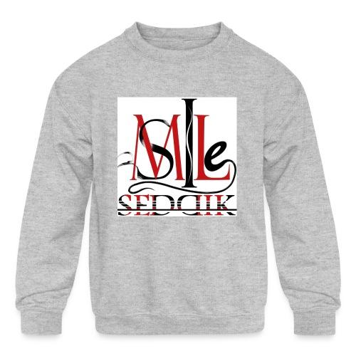 Seddik smile - Kid's Crewneck Sweatshirt