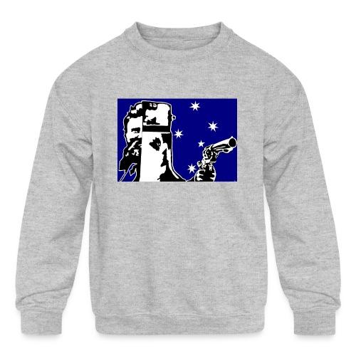 NED KELLY - Kids' Crewneck Sweatshirt