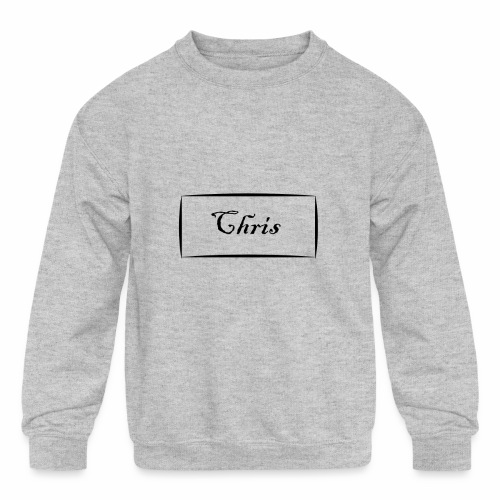 Chris - Kids' Crewneck Sweatshirt