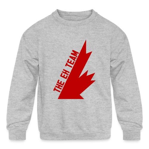 The Eh Team Red - Kids' Crewneck Sweatshirt