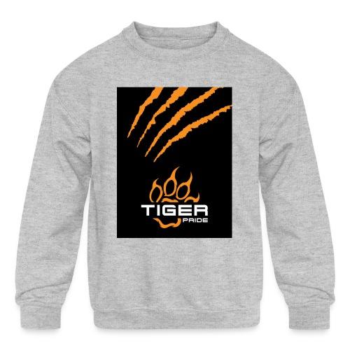 Tiger Pride iPad Case - Kids' Crewneck Sweatshirt