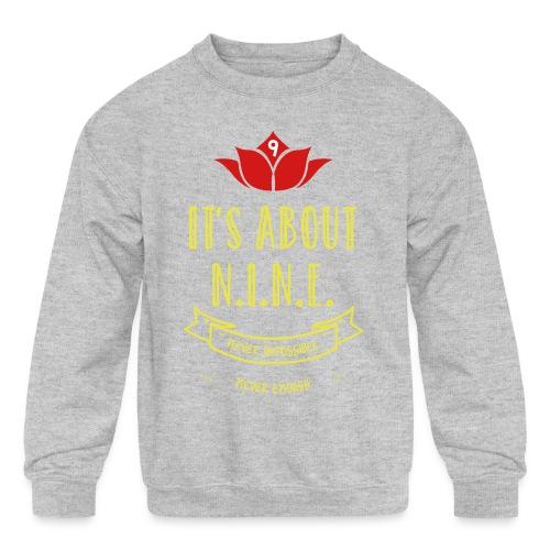 Design loto New - Kids' Crewneck Sweatshirt