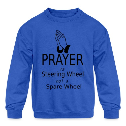 Prayer - Kids' Crewneck Sweatshirt