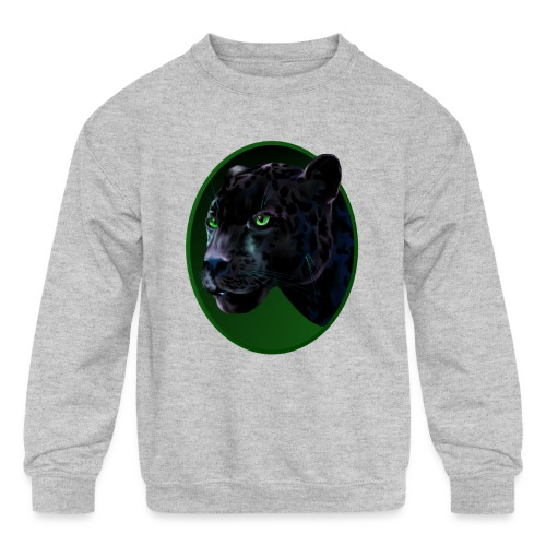 Big Black Jaquar - Kids' Crewneck Sweatshirt
