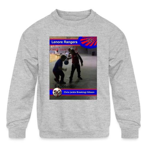 Basketball merch - Kids' Crewneck Sweatshirt