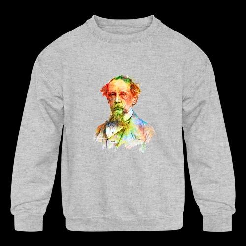What the Dickens?   Classic Literature Lover - Kids' Crewneck Sweatshirt
